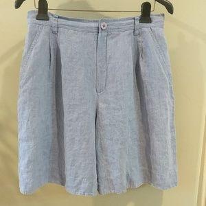 Dana Buchman linen shorts size 14